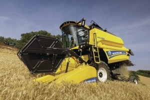 зърнокомбайн_New Holland TC