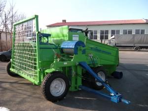 Машина за съхраниние на фуражи
