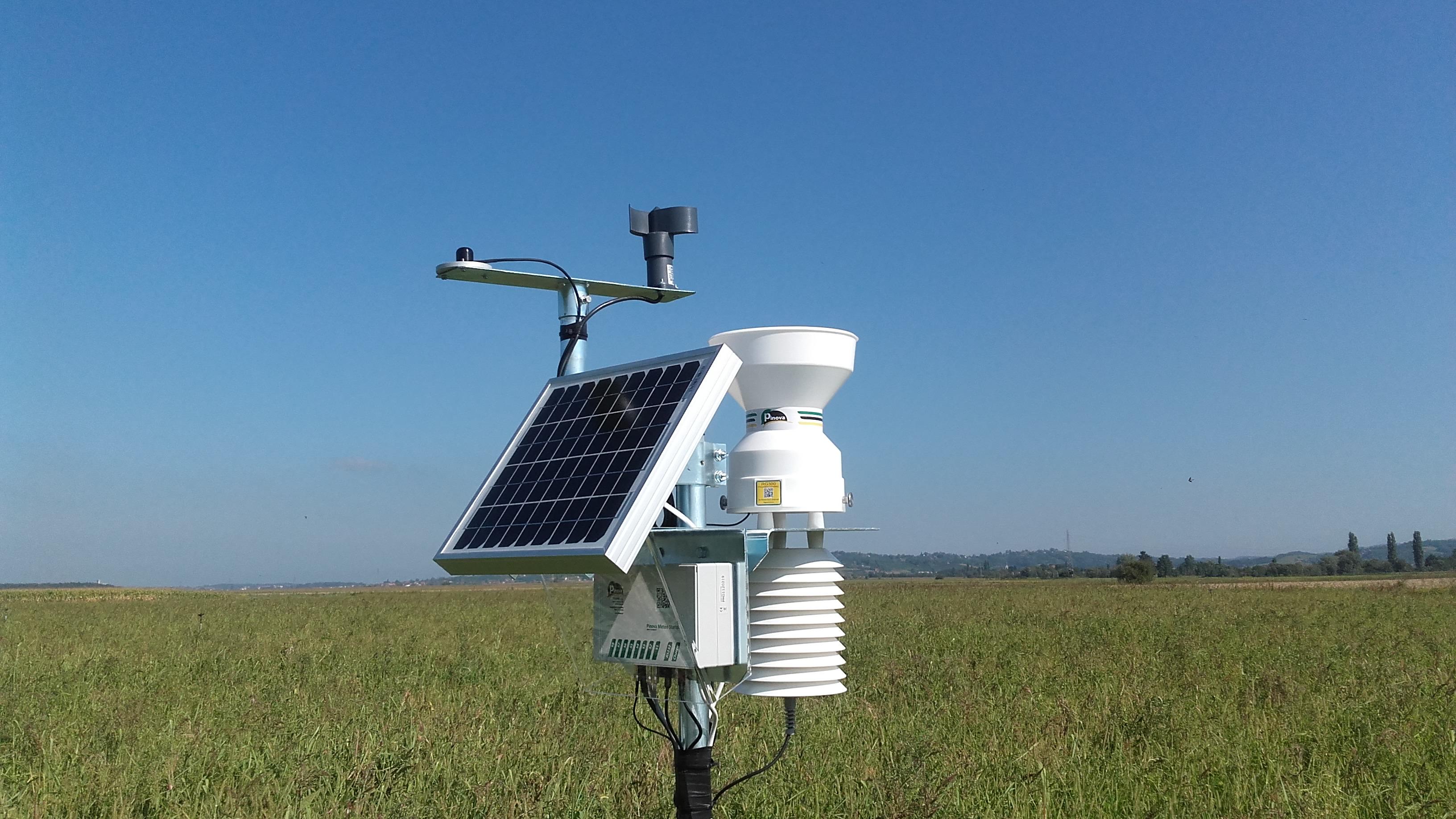 Pinova Автоматична метеорологична станция