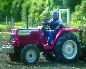 машина за полагане на биоразградима лента