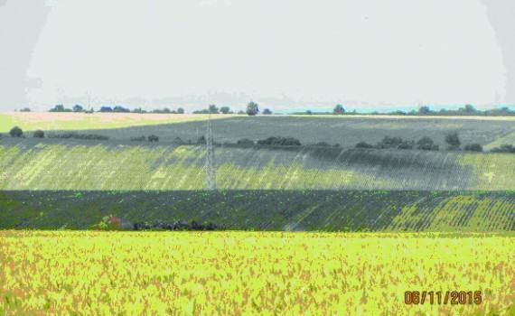 ерозиране на земеделските земи