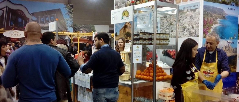 Вкусове от Италия_щандове