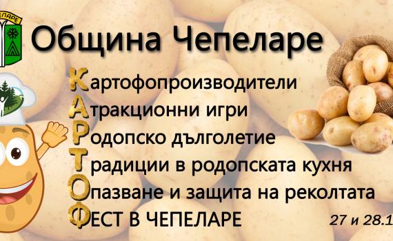 тапет за фейсбук картоф фест